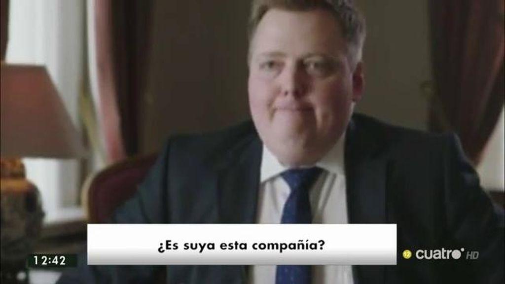 El primer ministro islandés abandona una entrevista al preguntarle por su sociedad en Panamá