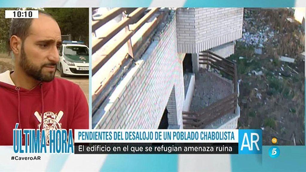200 familias, a punto de ser desalojadas de un poblado chabolista de Toledo
