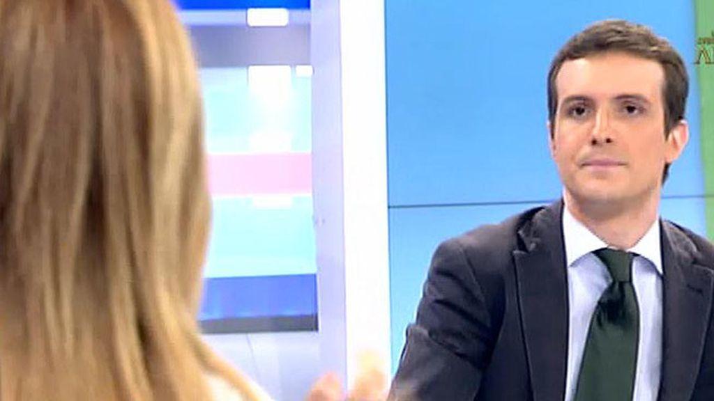 """Pablo Casado: """"En Valencia, había que hacer mucha limpieza"""""""