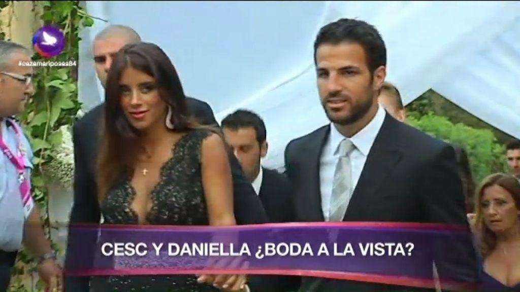 Cesc y Daniella, ¿boda a la vista?