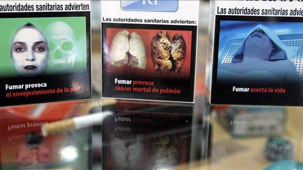Paquetes de tabaco con imágenes duras sobre sus consecuencias en la salud. Vídeo. Informativos Telecinco