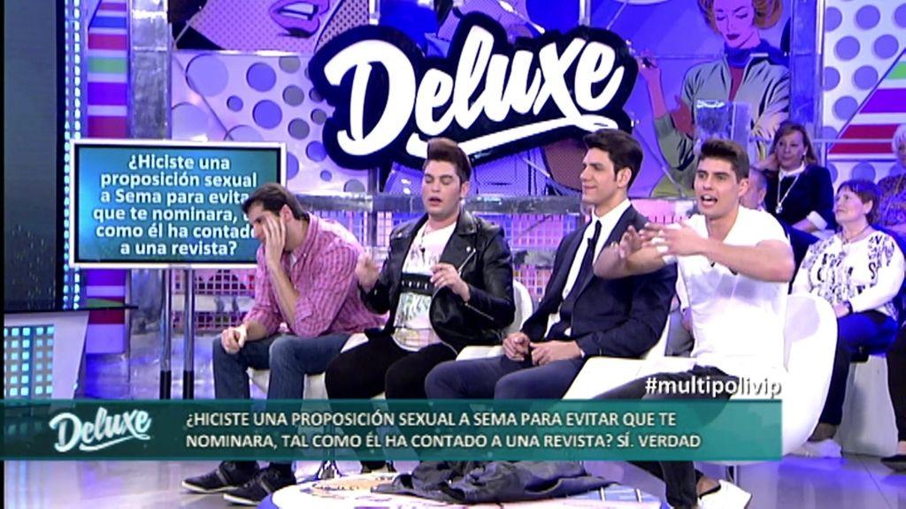 Javier Tudela hizo una proposición sexual a Sema para evitar que le nominara