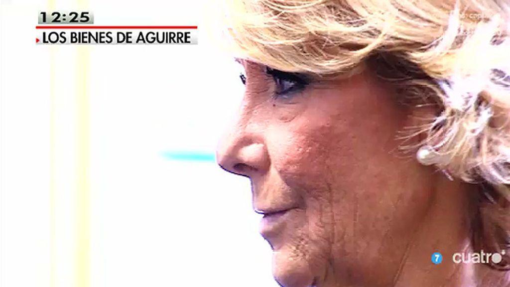 Aguirre pide a la Fiscalía que proceda a incoar diligencias para averiguar por qué se ha conocido su declaración de bienes