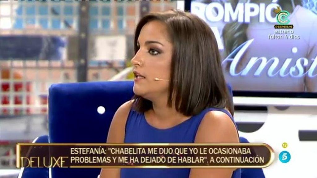 """Estefanía: """"Isa Pantoja me desprecia porque ha hablado con Alberto Isla"""""""
