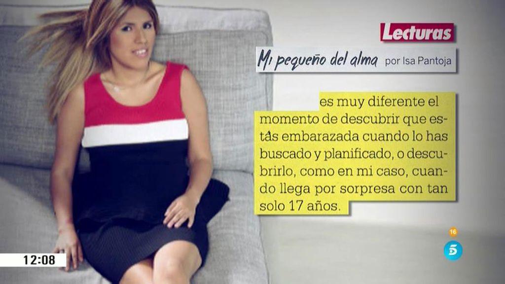 Chabelita desvela en blog quien la acompañaba cuando se hizo el predictor