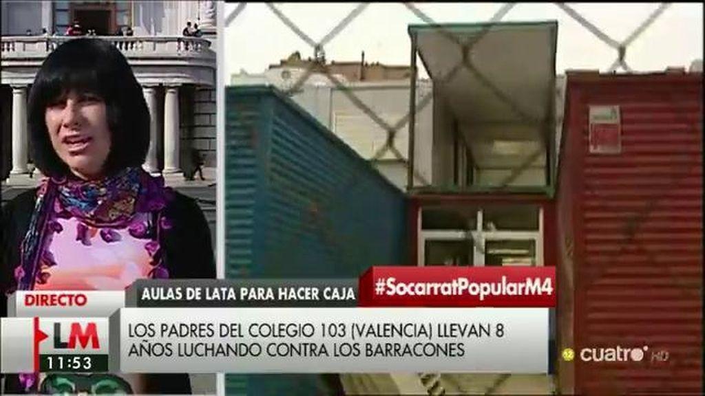 """Magdalena, sobre los colegios en barracones: """"¿Los corruptos no tienen hijos?"""""""