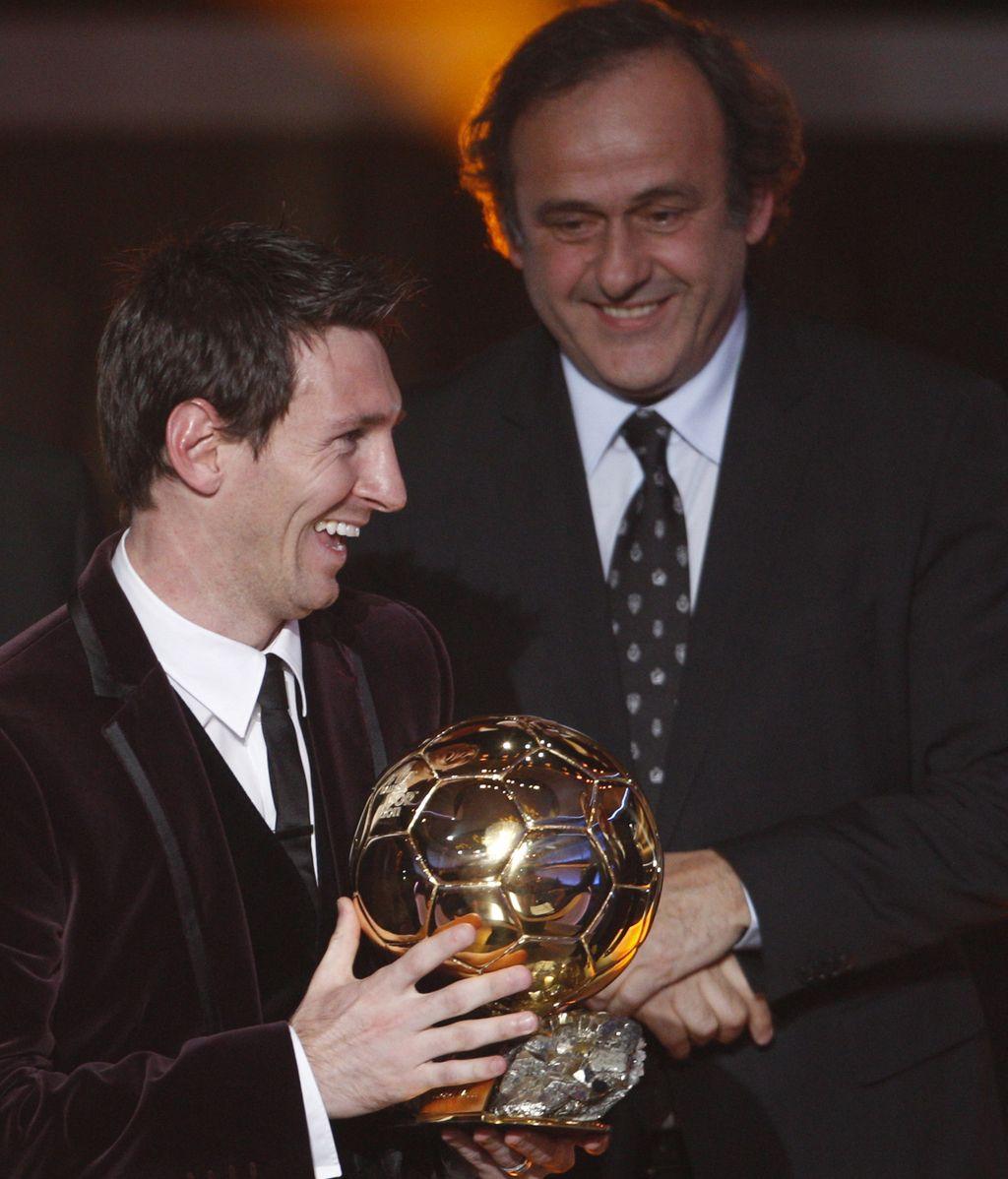 Leo Messi, tercer Balón de Oro consecutivo