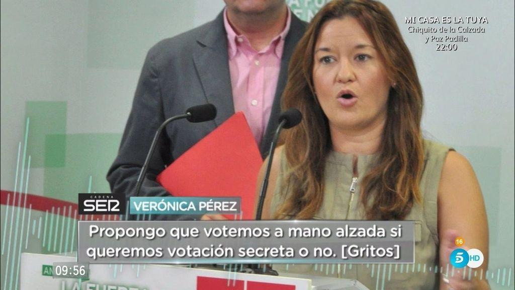"""Tensión en el PSOE: """"Estaremos muertos y Rajoy haciendo los carteles de la campaña"""""""