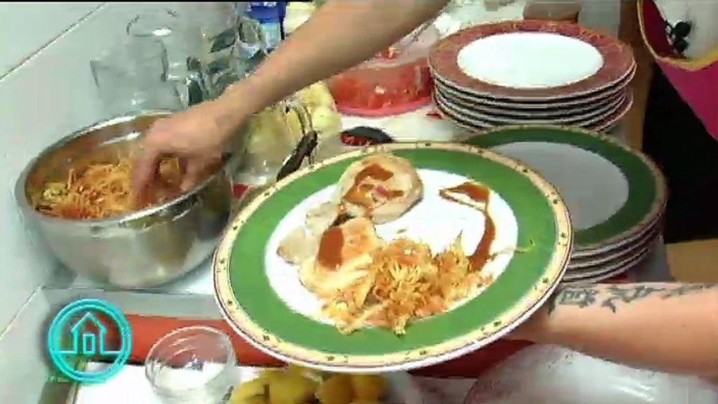 El menú del restaurante 'Casa Goyo'
