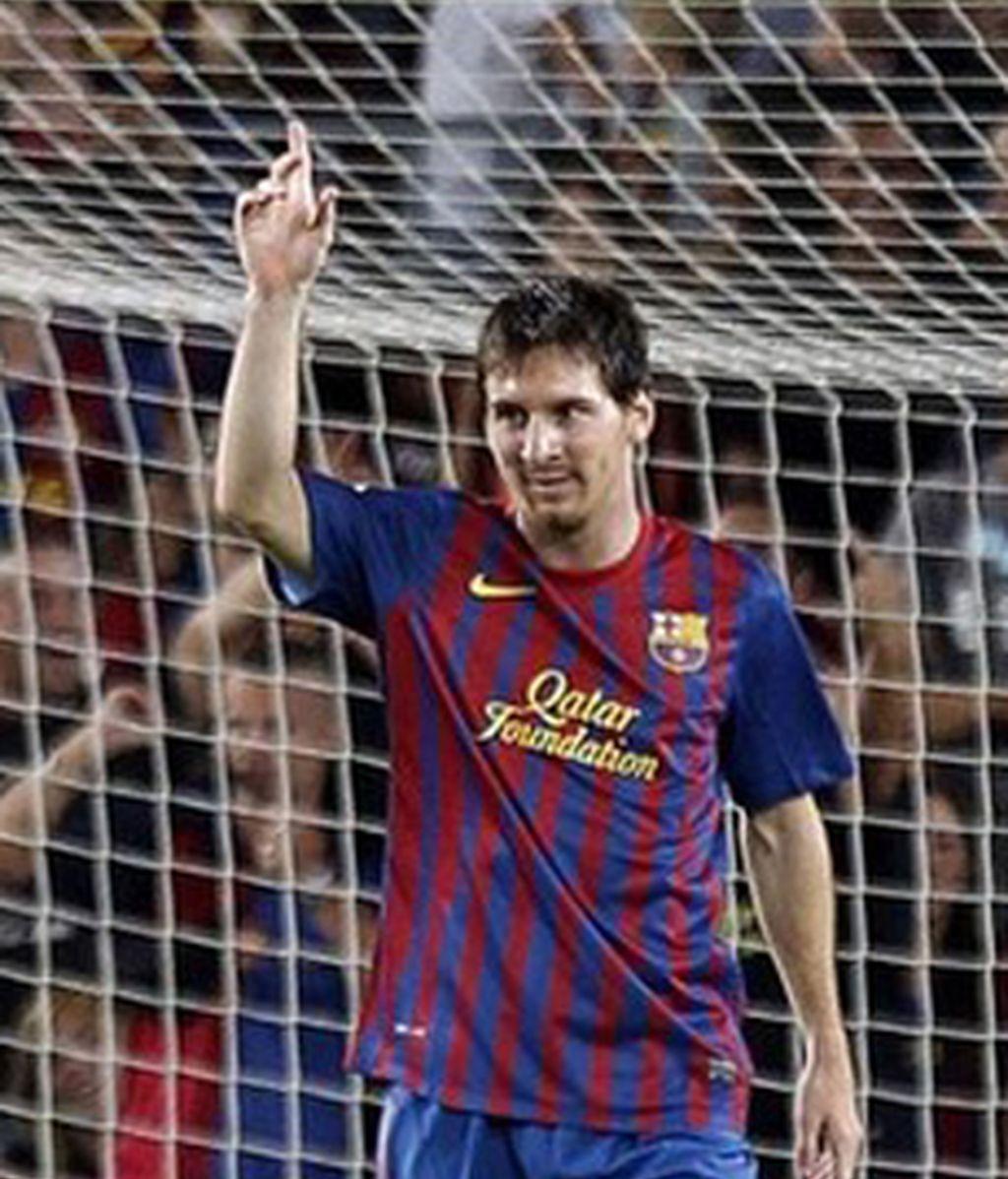 Infalible Messi. Vídeo: Informativos Telecinco