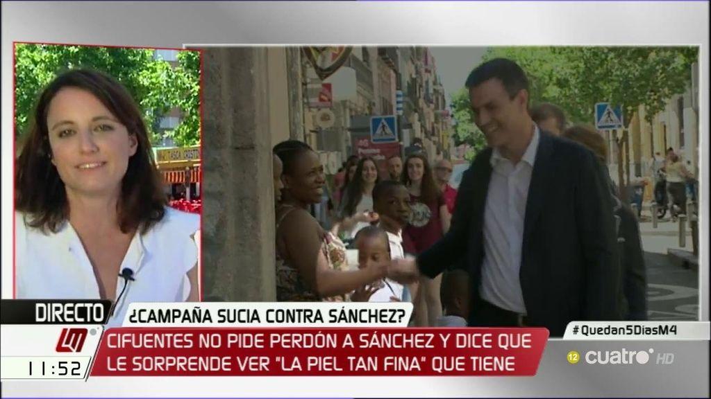 """A. Levy, sobre la polémica con el vídeo de Sánchez: """"Yo no haría política con el tema"""""""