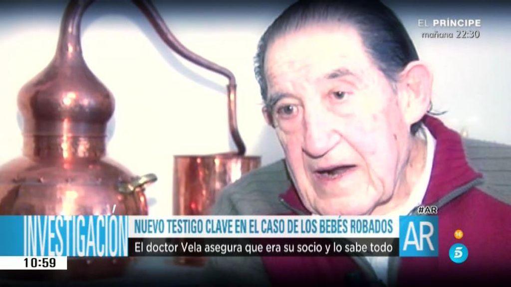 Declara el socio del doctor Eduardo Vela en el caso de los niños robados