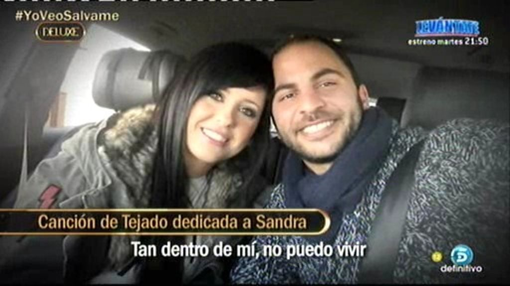 Así fue la canción que Antonio Tejado dedicó a Sandra, su supuesta amante