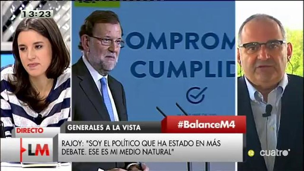 """Antón Losada: """"Había momentos en la entrevista que no sabía si hablaba Mariano Rajoy o Dora la exploradora"""""""