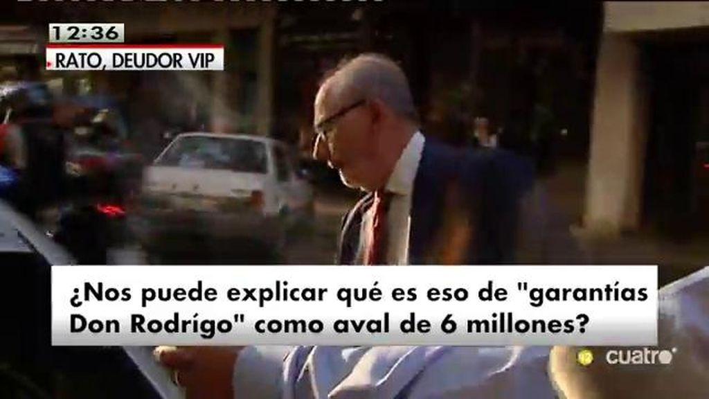 Rodrigo Rato, en silencio ante la polémica