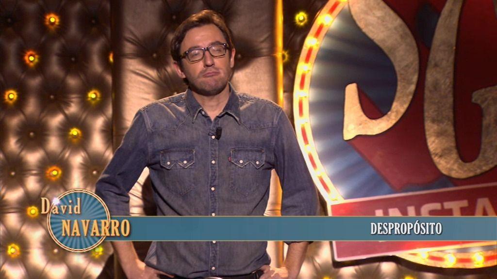 El monólogo de David Navarro: 'Despropósito'