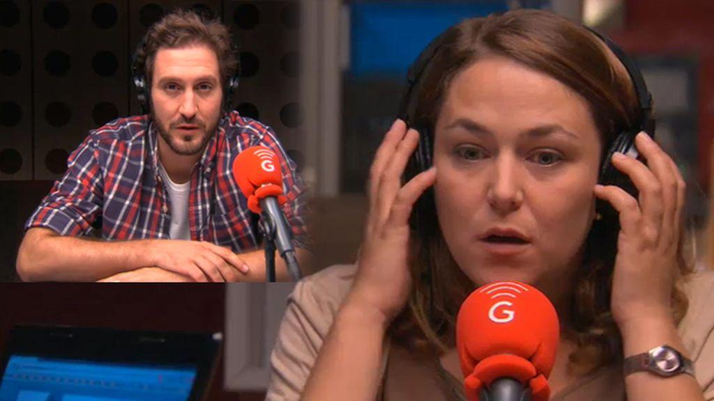 A Lucía le traiciona el subconsciente en el directo de MorninGlory