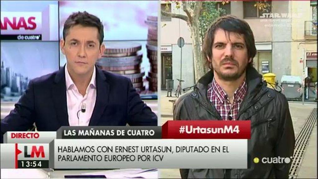 """Ernest Urtasun: """"Tenemos un PSOE que está más pendiente de su pelea interna"""""""