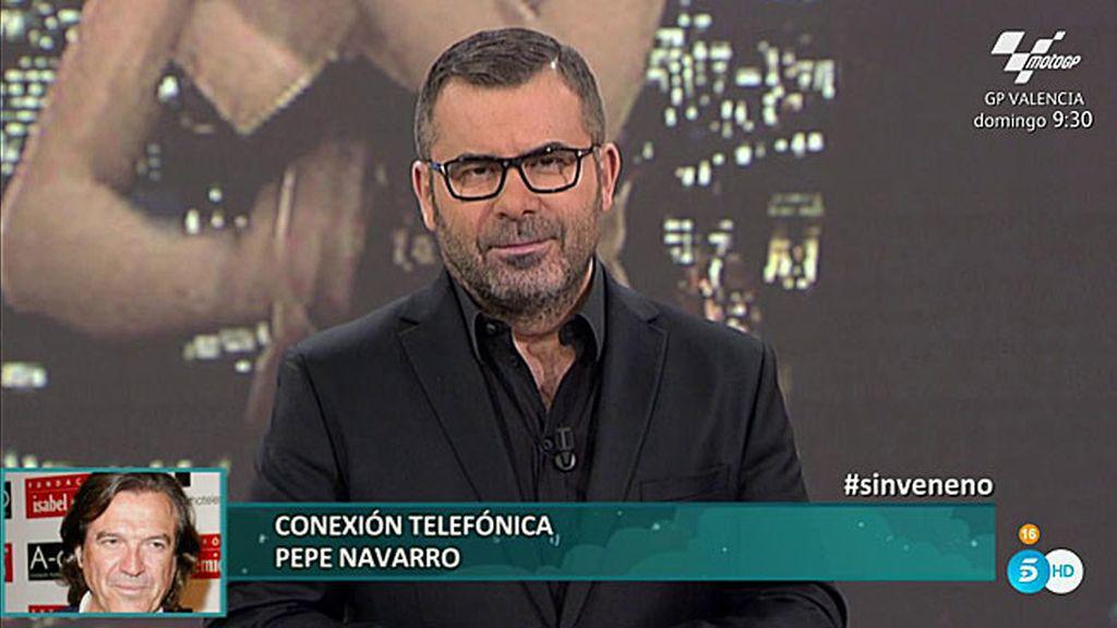 """Pepe Navarro se emociona al recordar a 'La Veneno': """"Espero que esté feliz donde esté"""""""