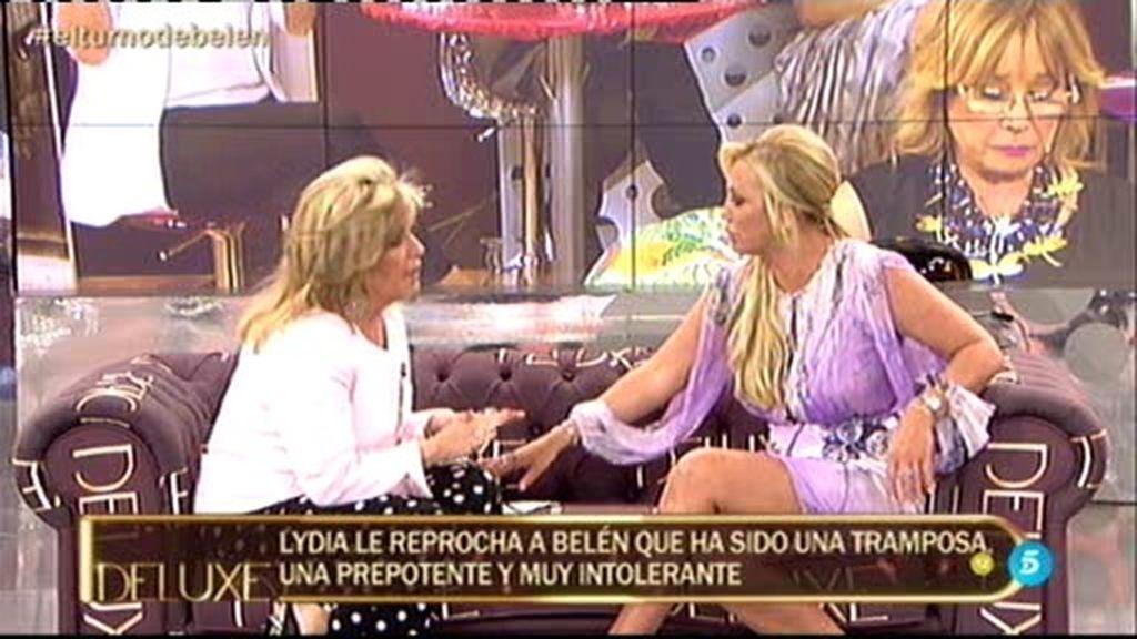 """Belén Esteban, rotunda sobre Lydia: """"Lo que dice ella no me hace daño nada"""""""