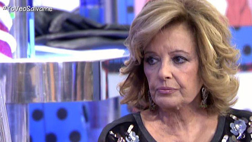 """María Teresa: """"Se puede cambiar de canal, pero la televisión no educa a los niños"""""""