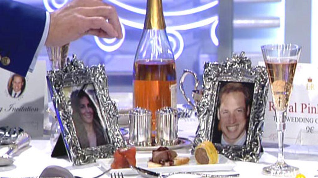 El menú de la boda de Kate y Guillermo