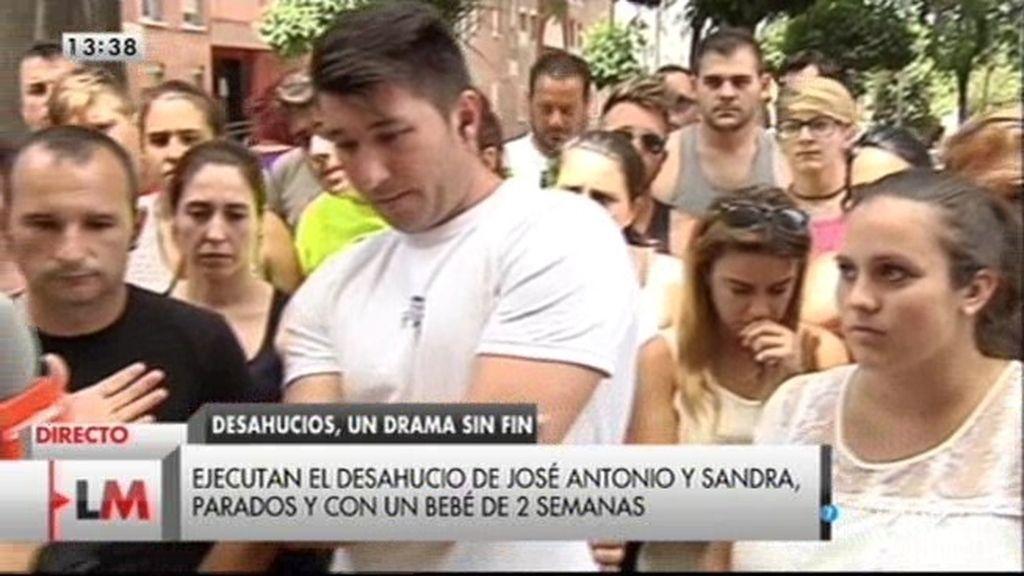 """José Antonio: """"Me veo en la calle porque tengo muy pocos ingresos"""""""