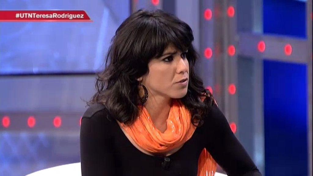 ¿Qué le dijo Pablo Iglesias a Teresa Rodríguez tras el resultado en Andalucía?