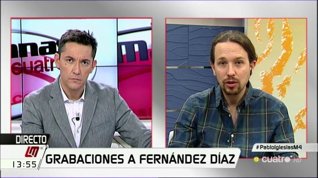 """Iglesias: """"Interior y el ministro son los encargados de velar por la seguridad de las votaciones, tenemos razones para estar preocupados"""""""