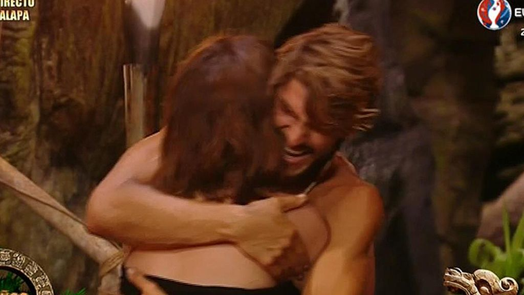 """Jorge, a su madre: """"Nunca me había alegrado tanto de verte"""""""