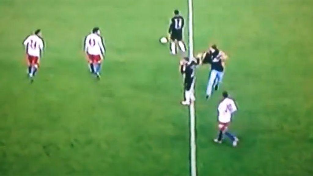 Así fue la reacción tras el incidente en el Hamburgo-Bayern