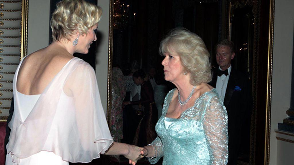 Charlene de Mónaco, y Camilla, duquesa de Cornualles