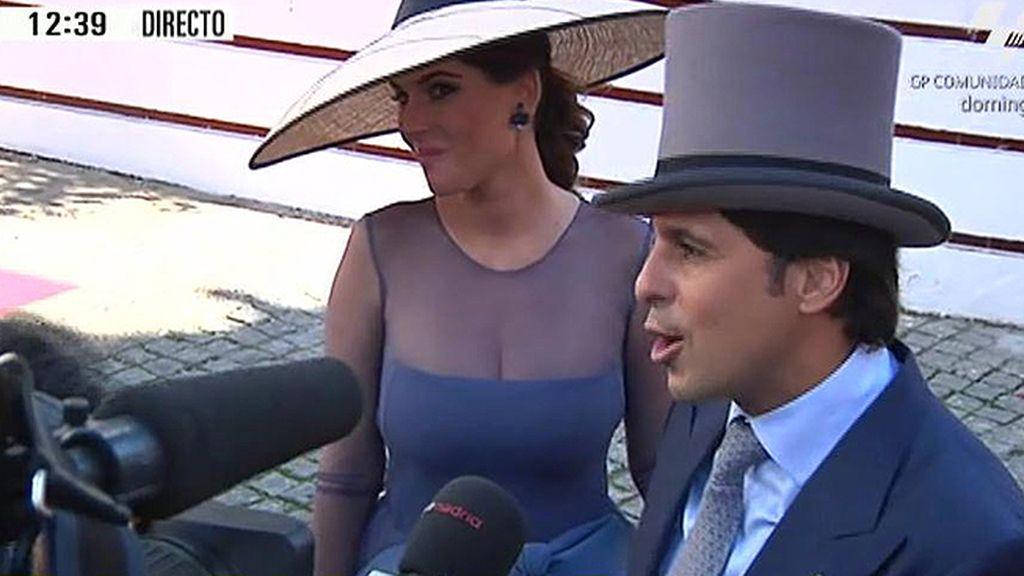 """Francisco Rivera: """"Que Cayetano y Eva sean tan felices como Lourdes y yo"""""""