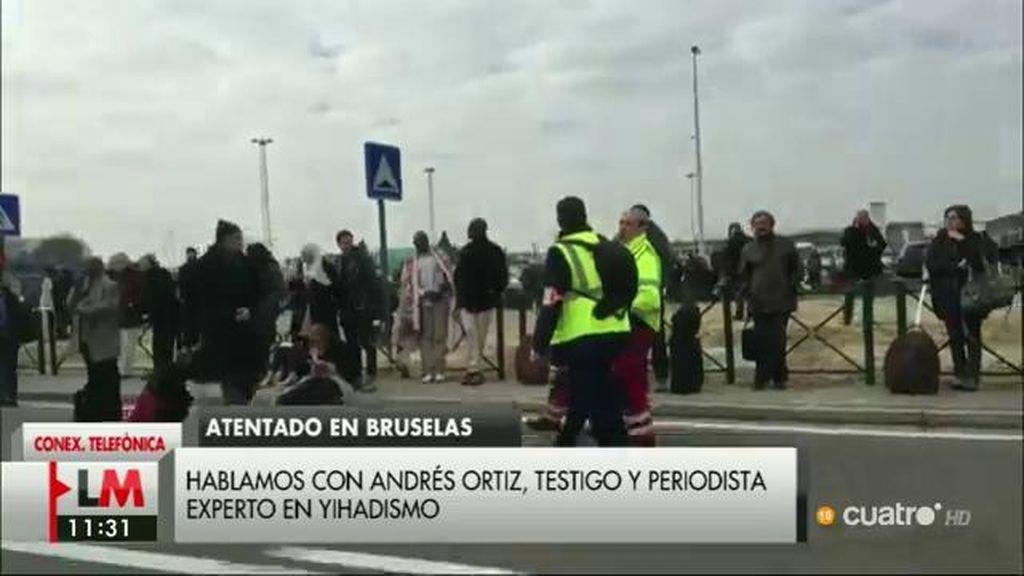"""Andrés Ortiz, testigo y periodista experto en terrorismo yihadista: """"Hay desconcierto, pero desconcierto calmado"""""""