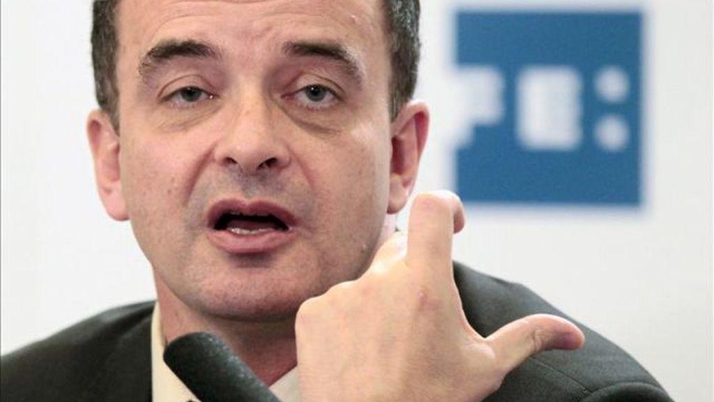 El candidato de ERC-RCat-Catalunya Sí a las generales, Alfred Bosch