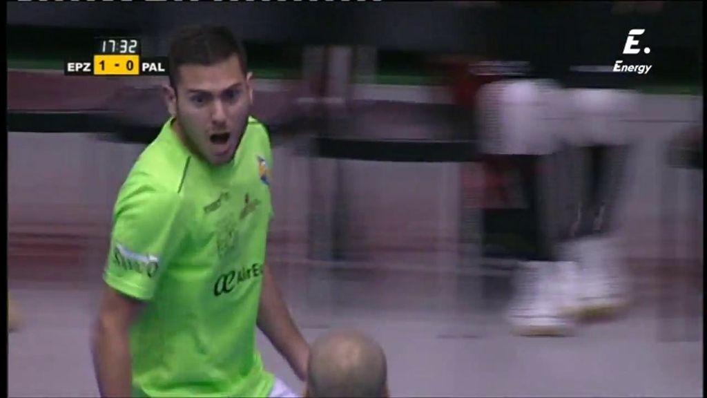 El gol de Taffy empata la final para el Palma Futsal