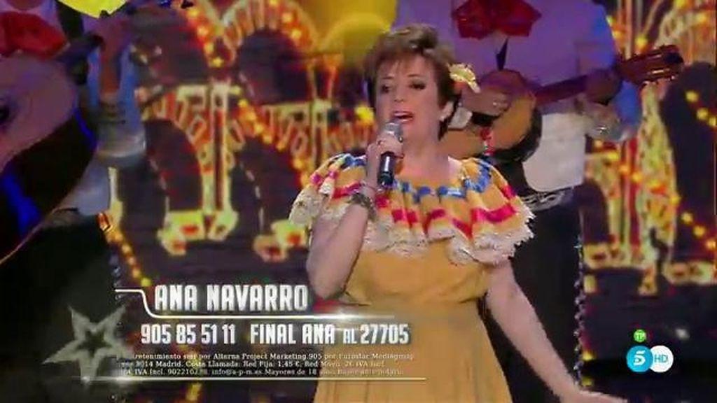 Ana Navarro se crece con una ranchera