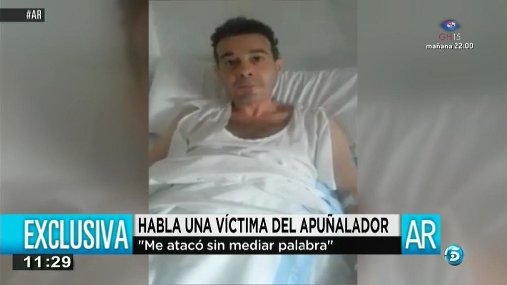 """Víctima del apuñalador de Lleida: """"Me atacó de frente sin mediar palabra"""""""