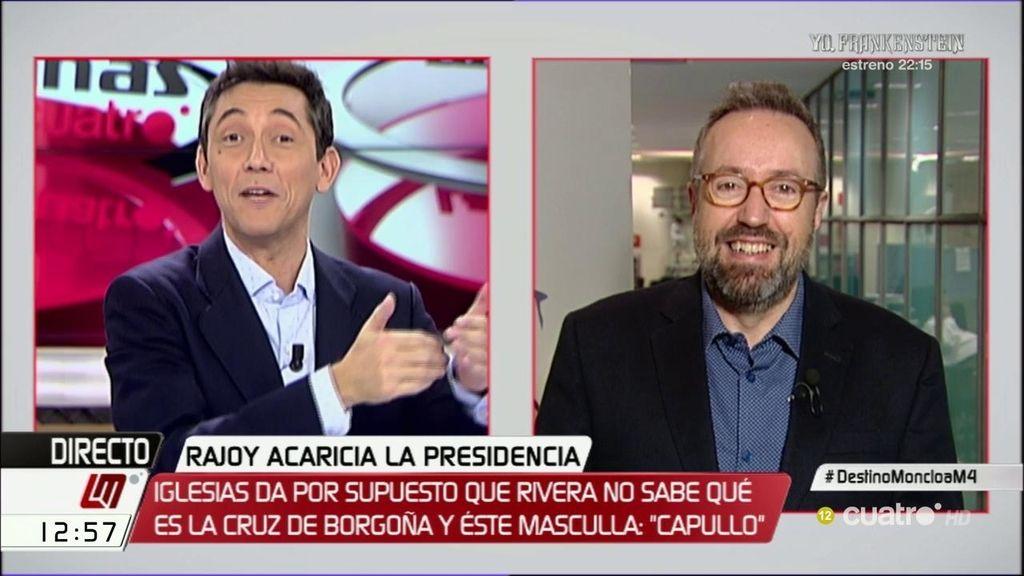 """Girauta, sobre el """"capullo"""" de Rivera a Iglesias: """"Hablábamos de otro"""""""