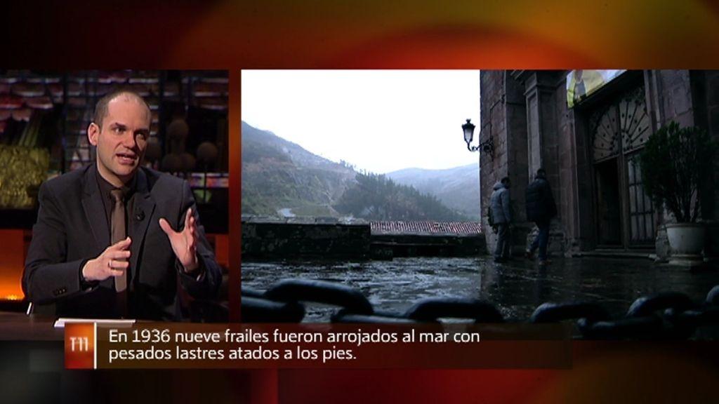 """Paco Pérez: """"En la posguerra ya se decía que en el túnel de Las Caldas aparecía algo"""""""