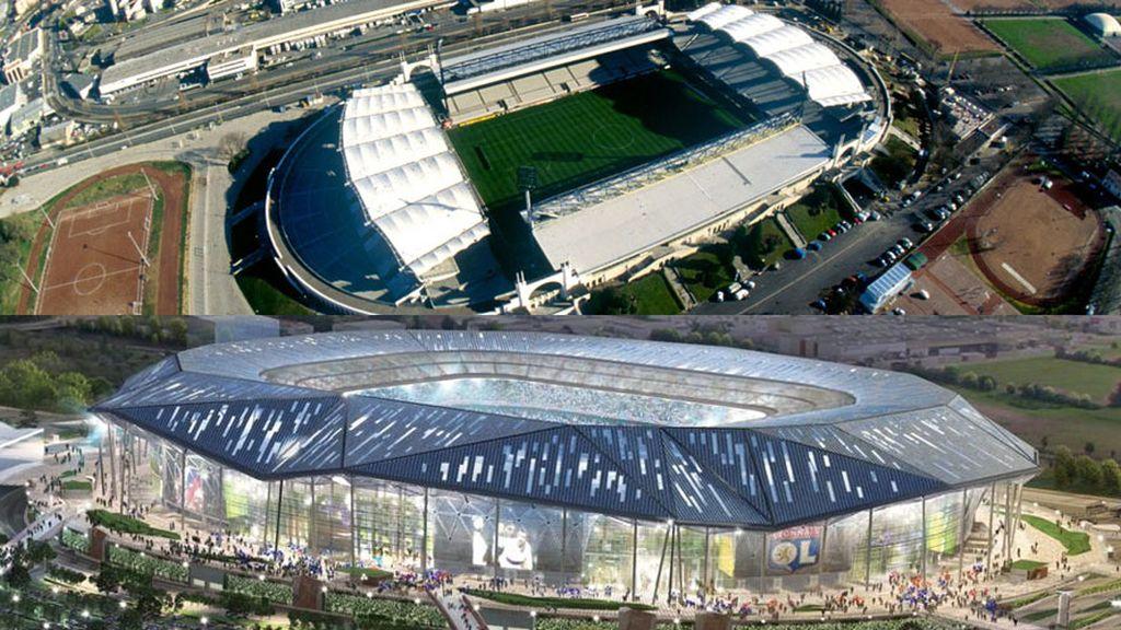 Stade des Lumieres: Lyón mira hacia 2016