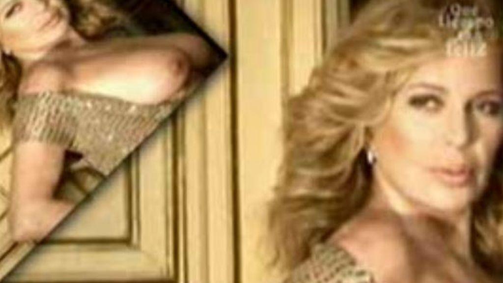 Bárbara Rey, al desnudo