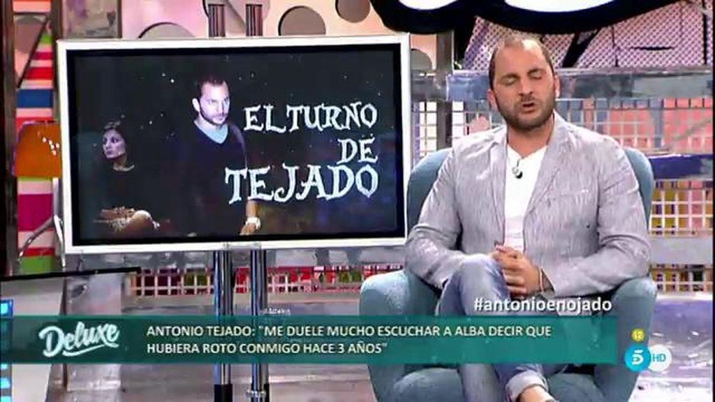 """Antonio Tejado habla sobre su infidelidad: """"No lo considero cuernos"""""""