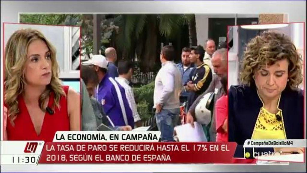 """Dolors Monserrat (PP): """"España necesita un gobierno estable pero el PSOE no ha dejado gobernar a la lista más votada"""""""
