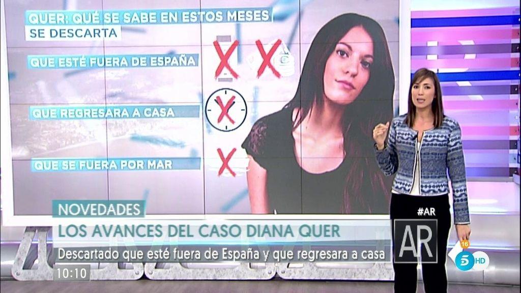 Diana Quer no regresó a casa y se descarta que este fuera de España