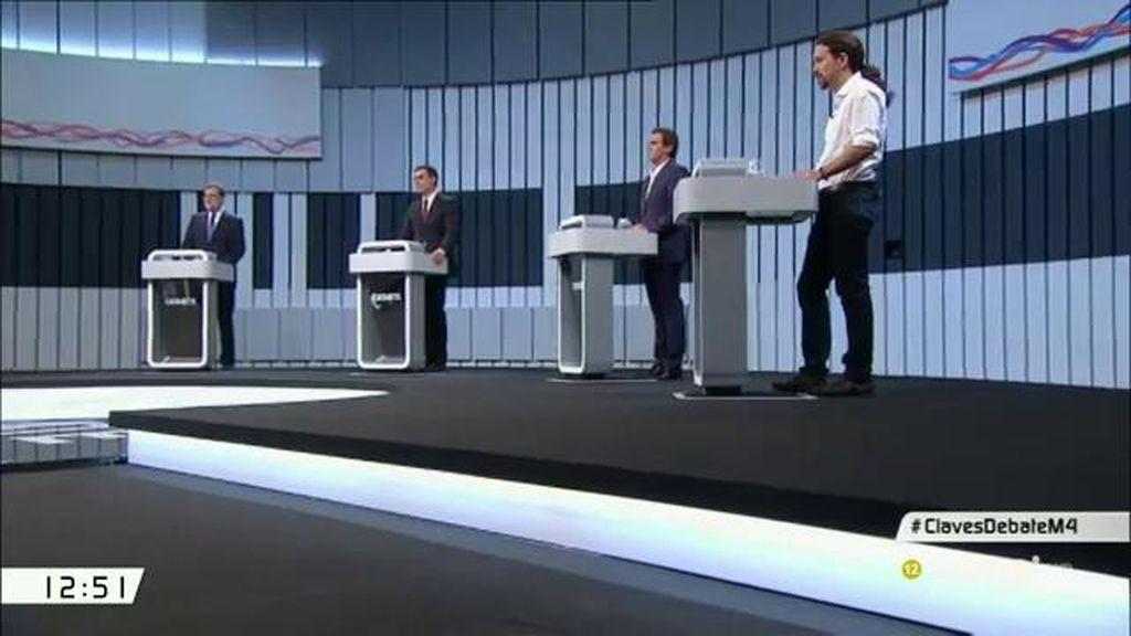 Los 223 'dardos' cruzados del debate