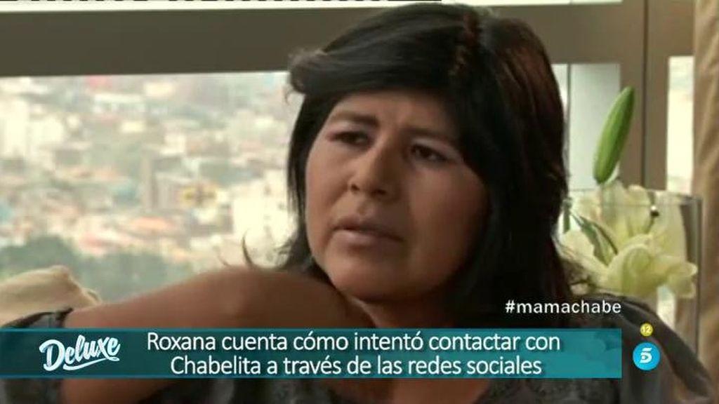 """Roxana: """"He intentado contactar con Chabelita para que sepa por qué le dí en adopción"""""""
