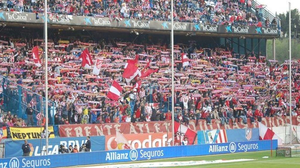 El Atlético expulsa al Frente del Calderón