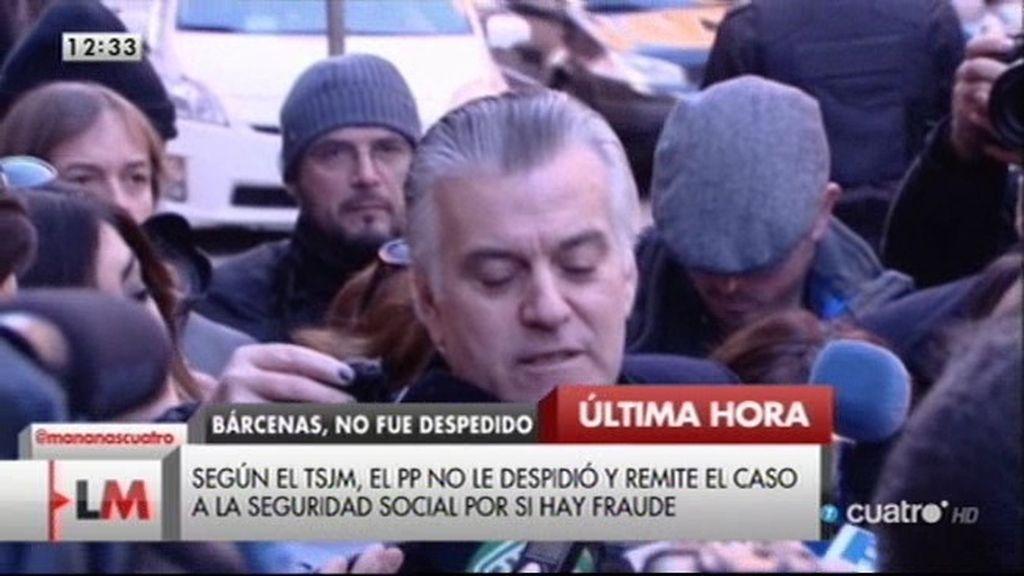 Bárcenas amenaza al Gobierno con un vídeo del robo de su caja fuerte