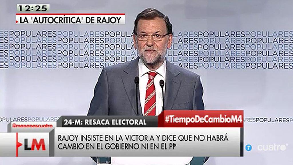 """Rajoy: """"Tenemos que ser más próximos, más cercanos y comunicar más"""""""